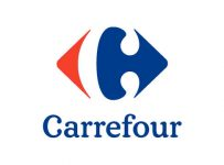 Carrefour Logo Color Palette