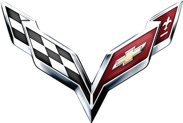Corvette Logo Color Palette