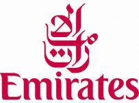 Emirates Logo Color Palette