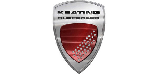 Keating Supercars Logo Color Palette