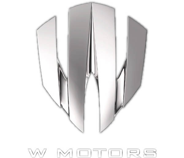 W Motors Logo Color Palette