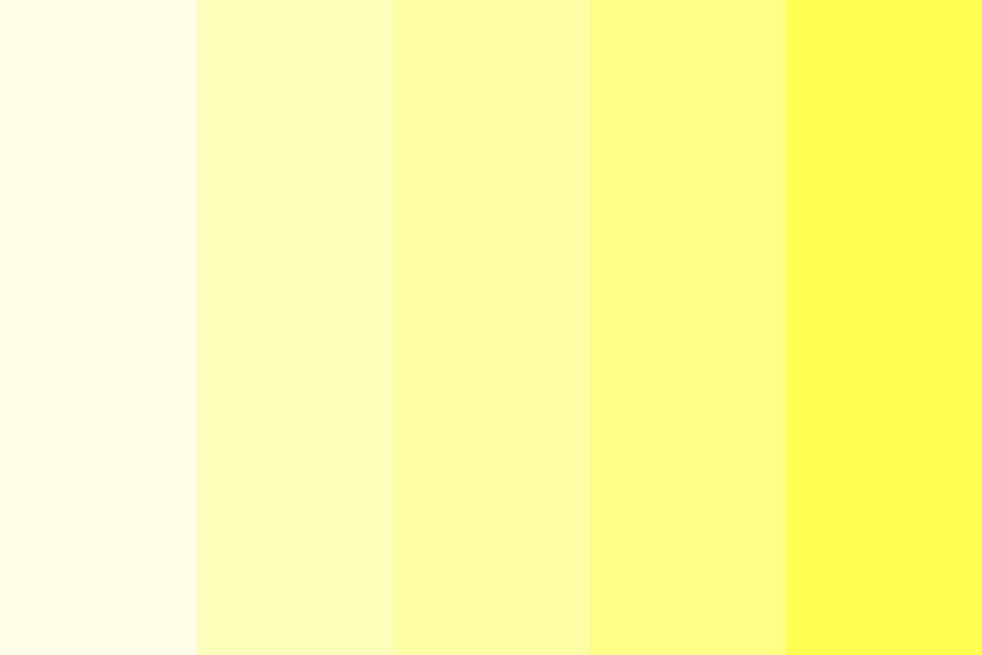 baby Yellow  Color Palette