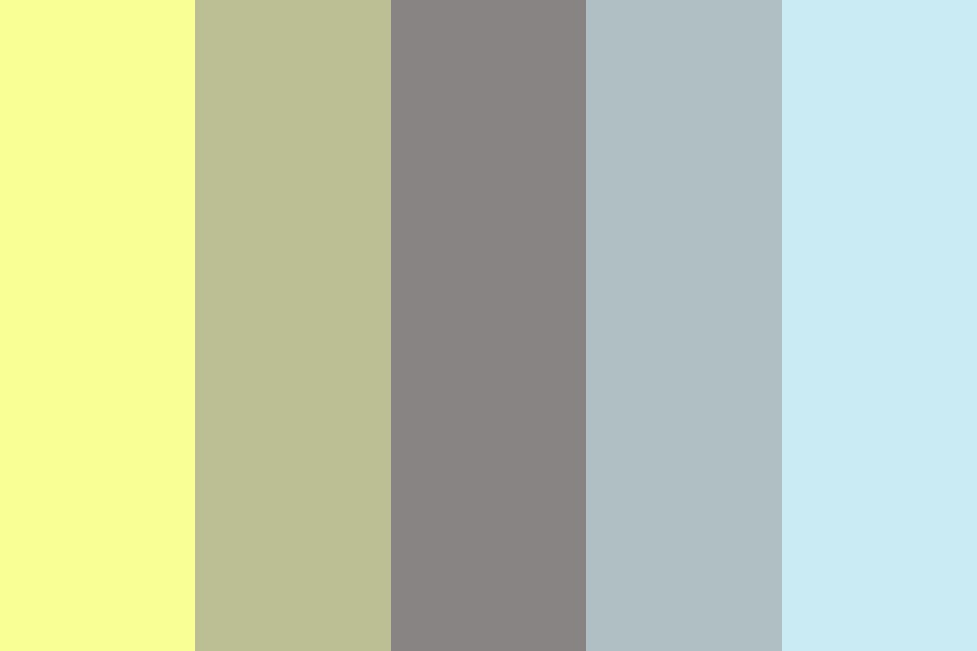 A Bolt From The Blue Color Palette