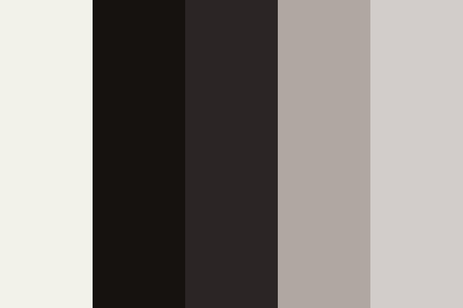A Boring Grey Winter Color Palette