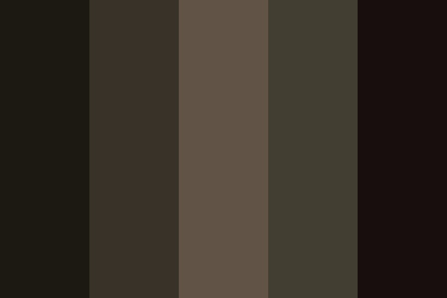 A Dark And Stormy Night Color Palette