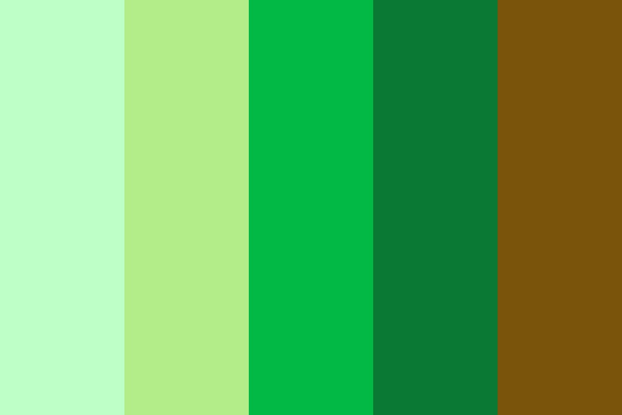 A Day In The Forest Color Palette