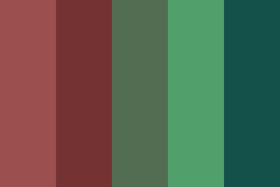 A Dull Chirstmas Color Palette