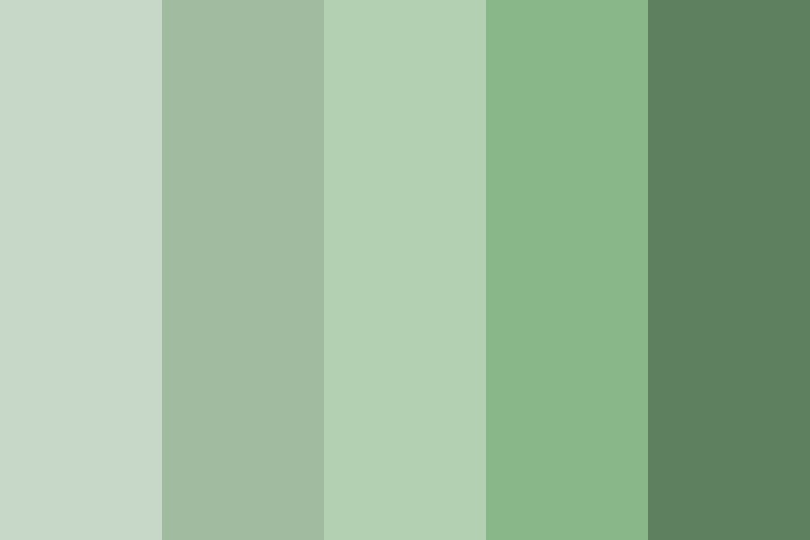 A Green Spring Color Palette