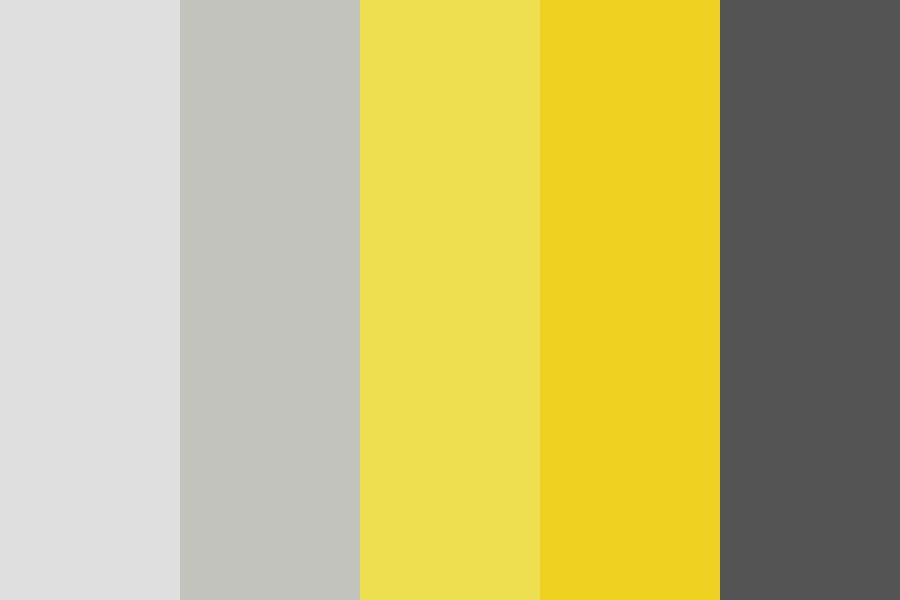 A Hint Of Yellow Color Palette