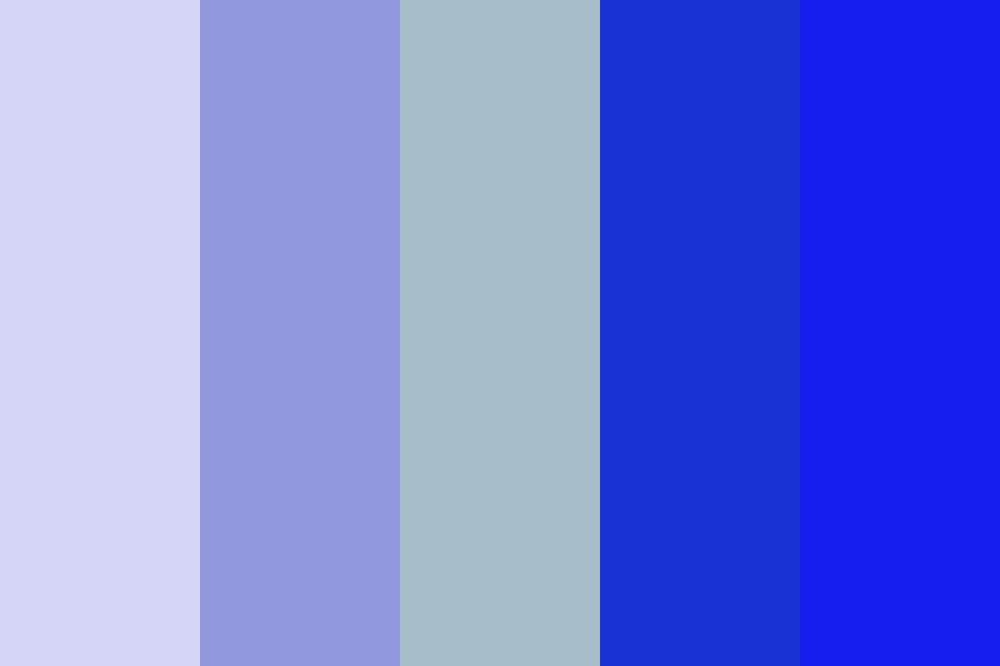 A Jump In The Ocean Color Palette