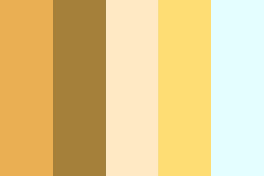 A Lemur Lost In The Desert Color Palette