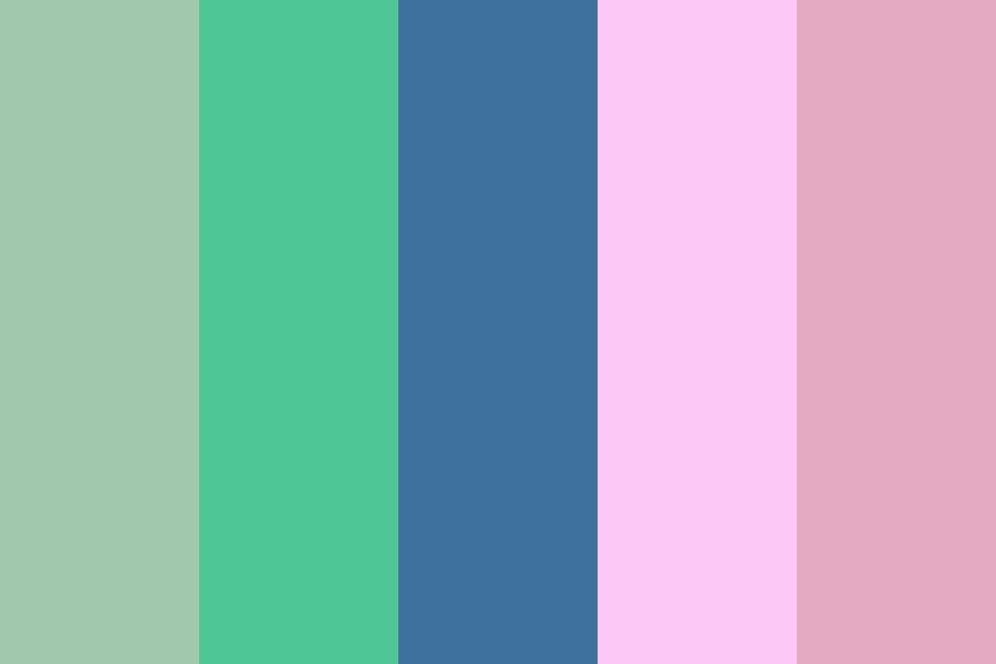 A Muted Spring Color Palette