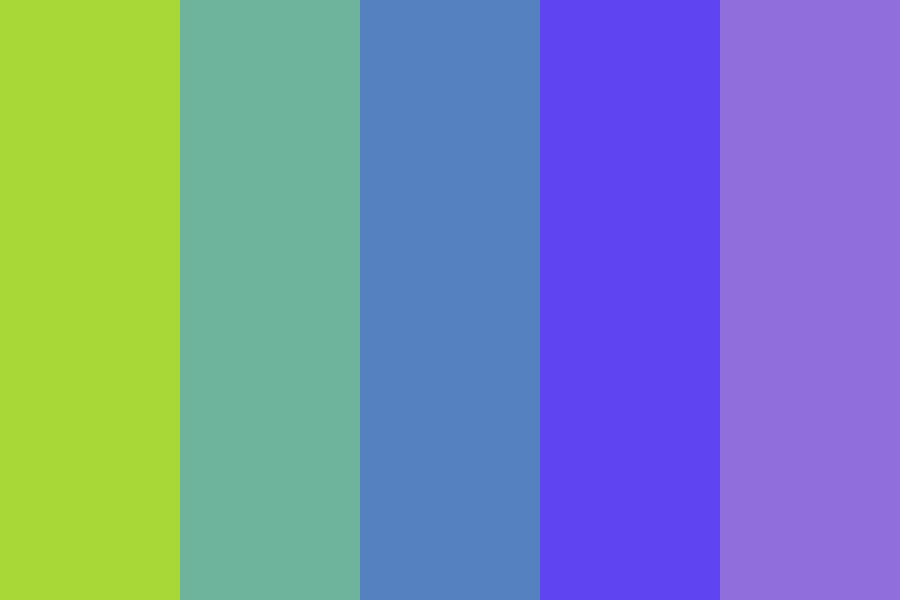 A Neon Fig Color Palette
