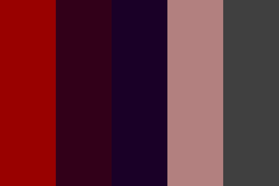 A Night Of The Hunt Color Palette
