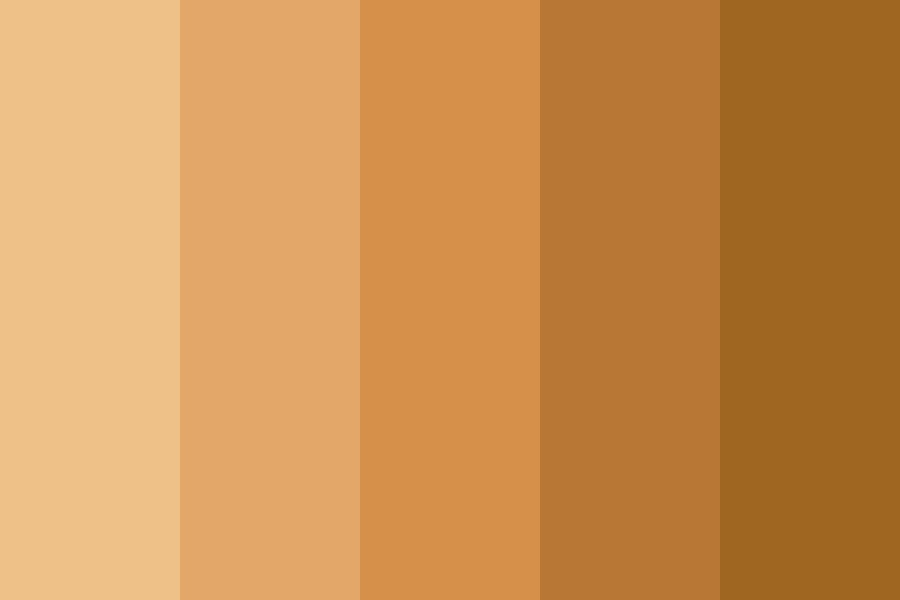 A Skin Tone Color Palette