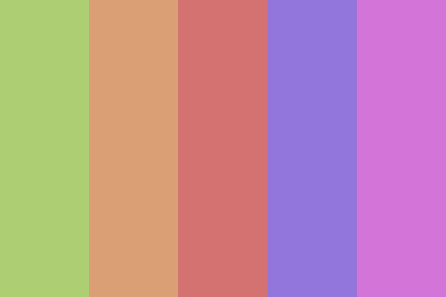 A Spring Breeze Color Palette