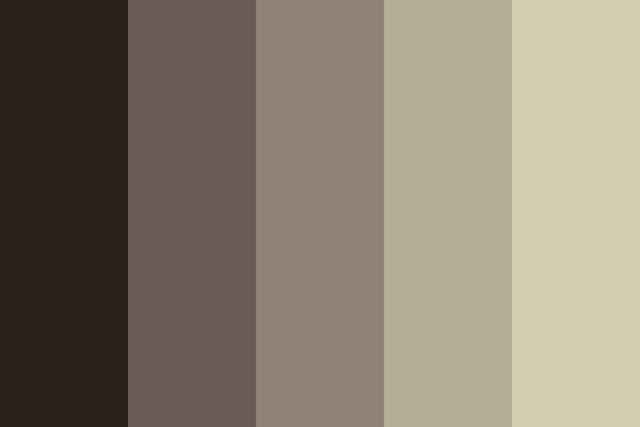 A Whole Lotta Browns Color Palette