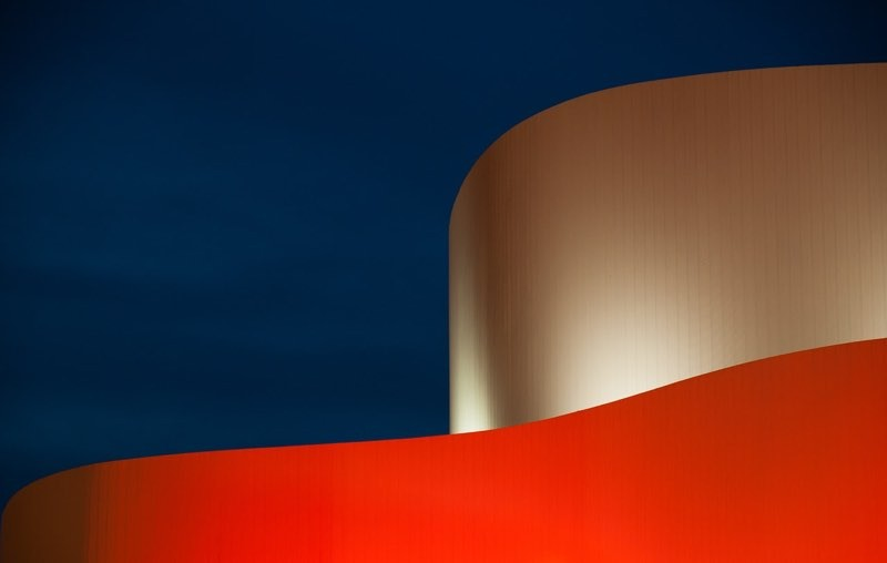 Abstract Architecture Color Palette