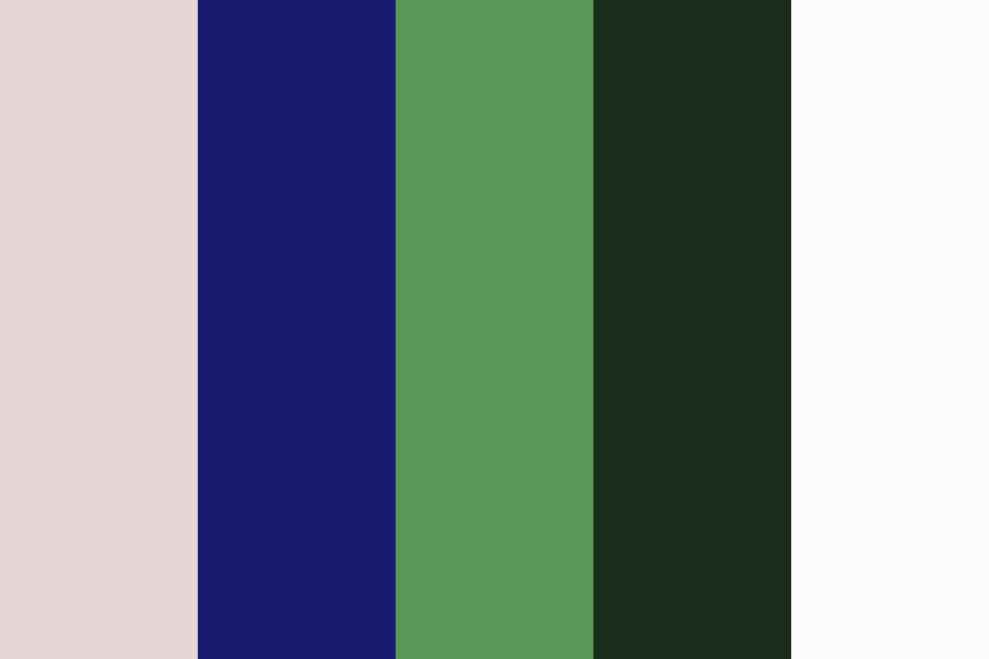 Adjusted Triadic From Midnight Blue Color Palette