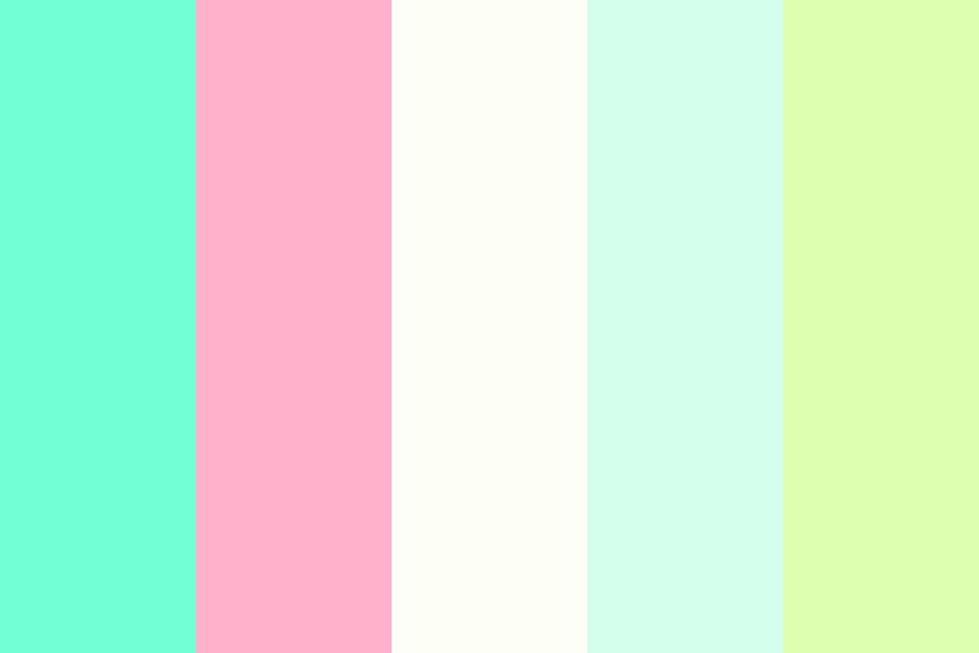 Aesthetic I Think Color Palette