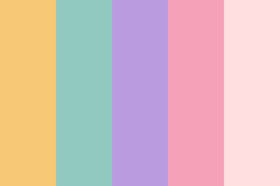 Aesthetic Pigeon Color Palette
