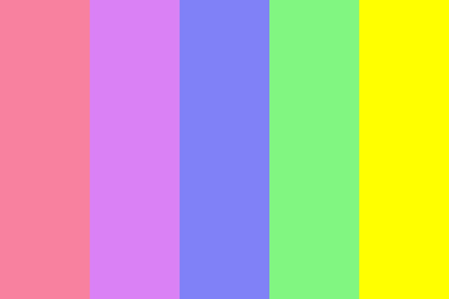 Aesthetic Suicide Color Palette