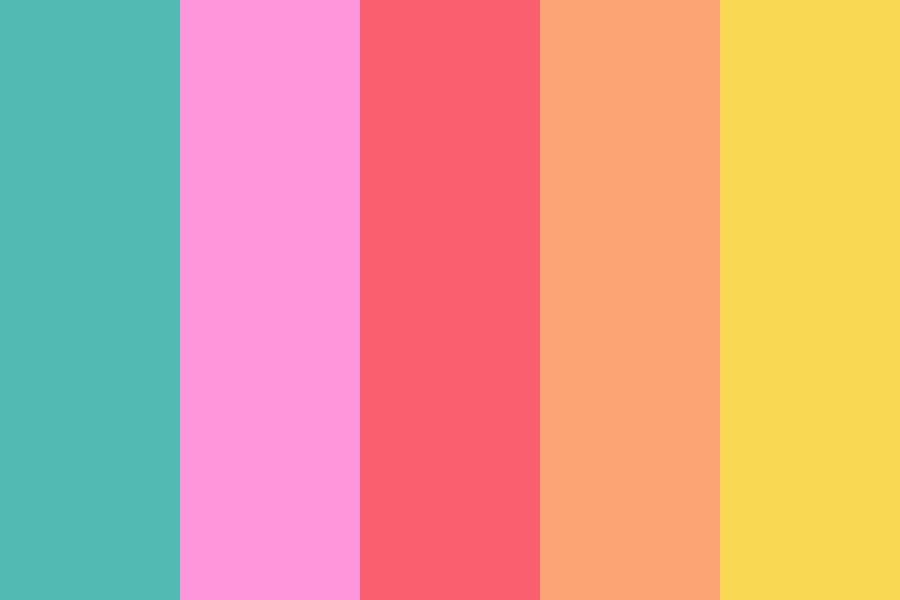 Aesthetic Tissue Package Color Palette