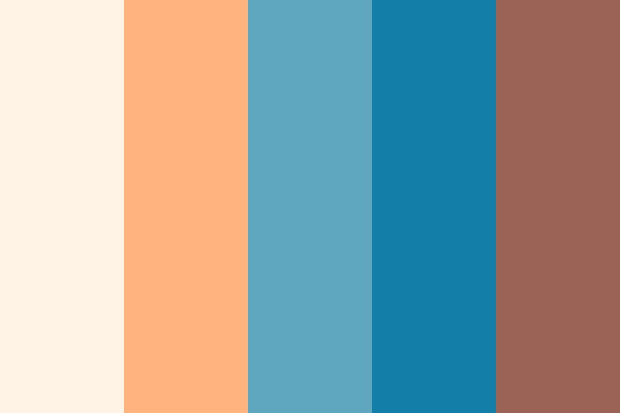 African Beaches Color Palette