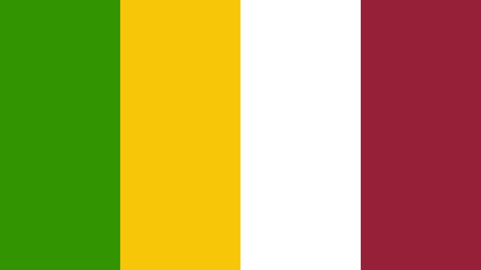 African Union Flag Color Palette