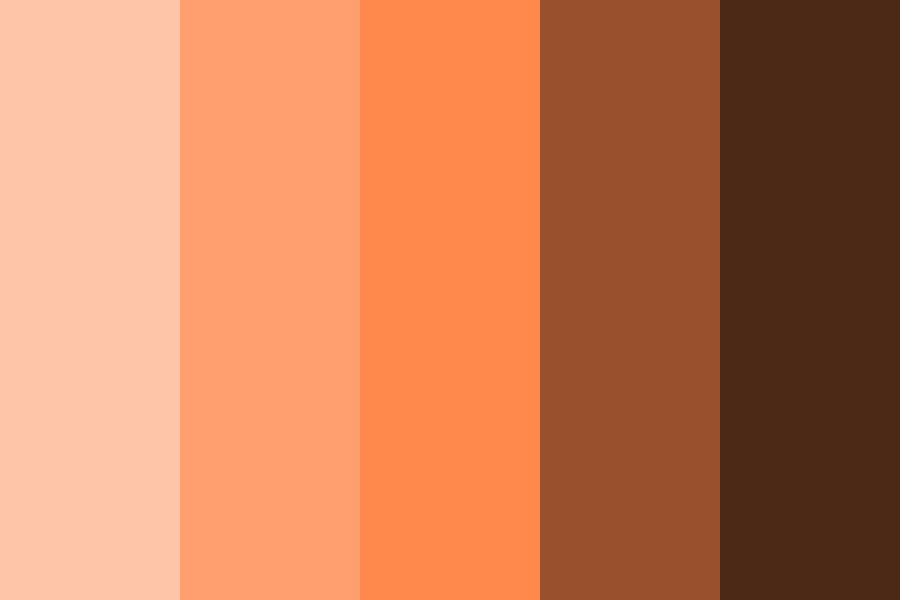 Agent Orange Color Palette