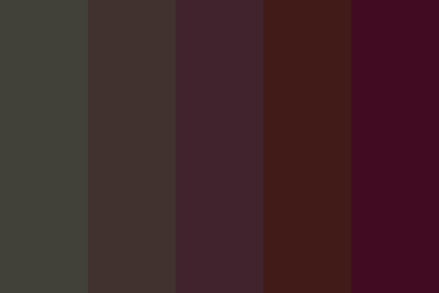 Alaskan Darkness Color Palette