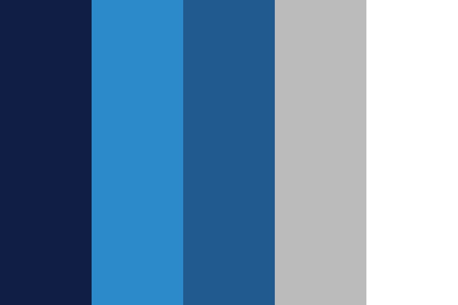 All Things Blue Color Palette