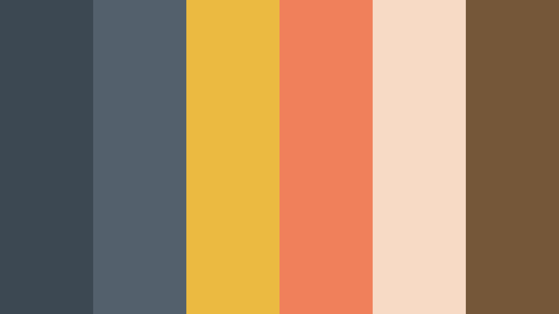 All We Need Color Palette