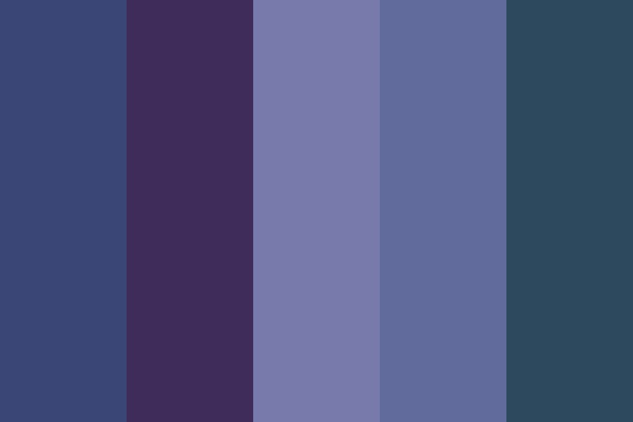All nighter Color Palette