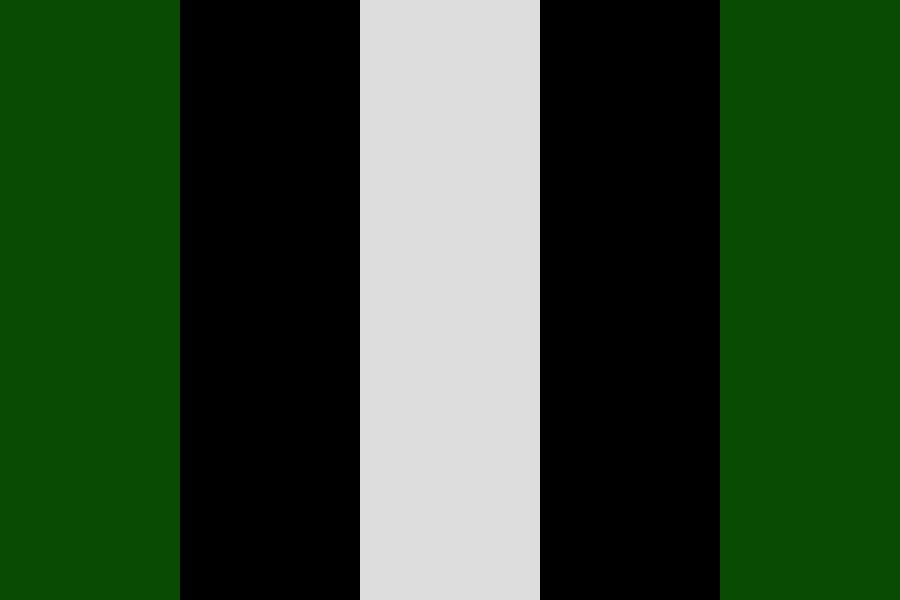 Als Green Armoured Cadillac Limousine Color Palette