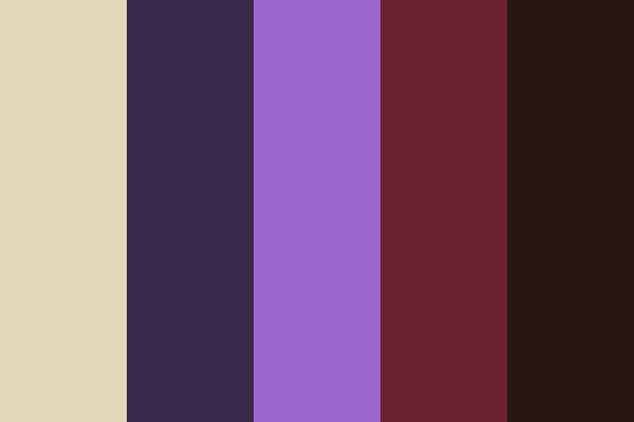Amethyst Is Lawful Neutral Color Palette