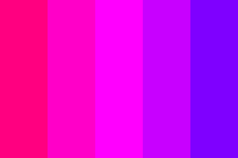 Analagous Pink Color Palette