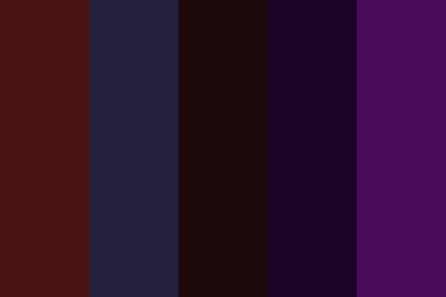 And Ill Follow You Into The Dark Color Palette