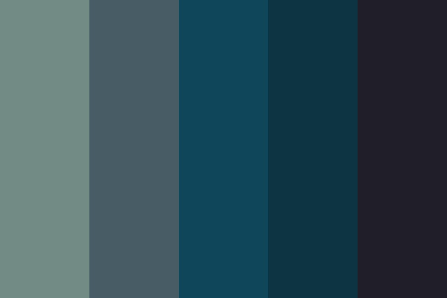 And Im So Tired Color Palette