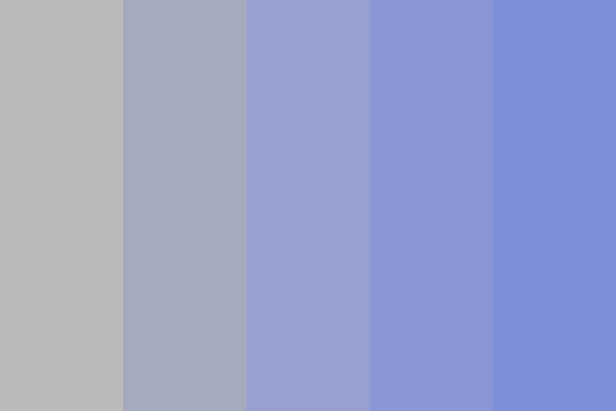 And Lets Dace The Blues Color Palette
