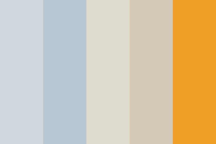 And Then I Remembered Color Palette