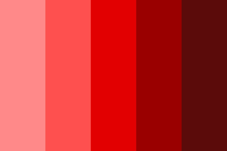 Angel On Fire Color Palette