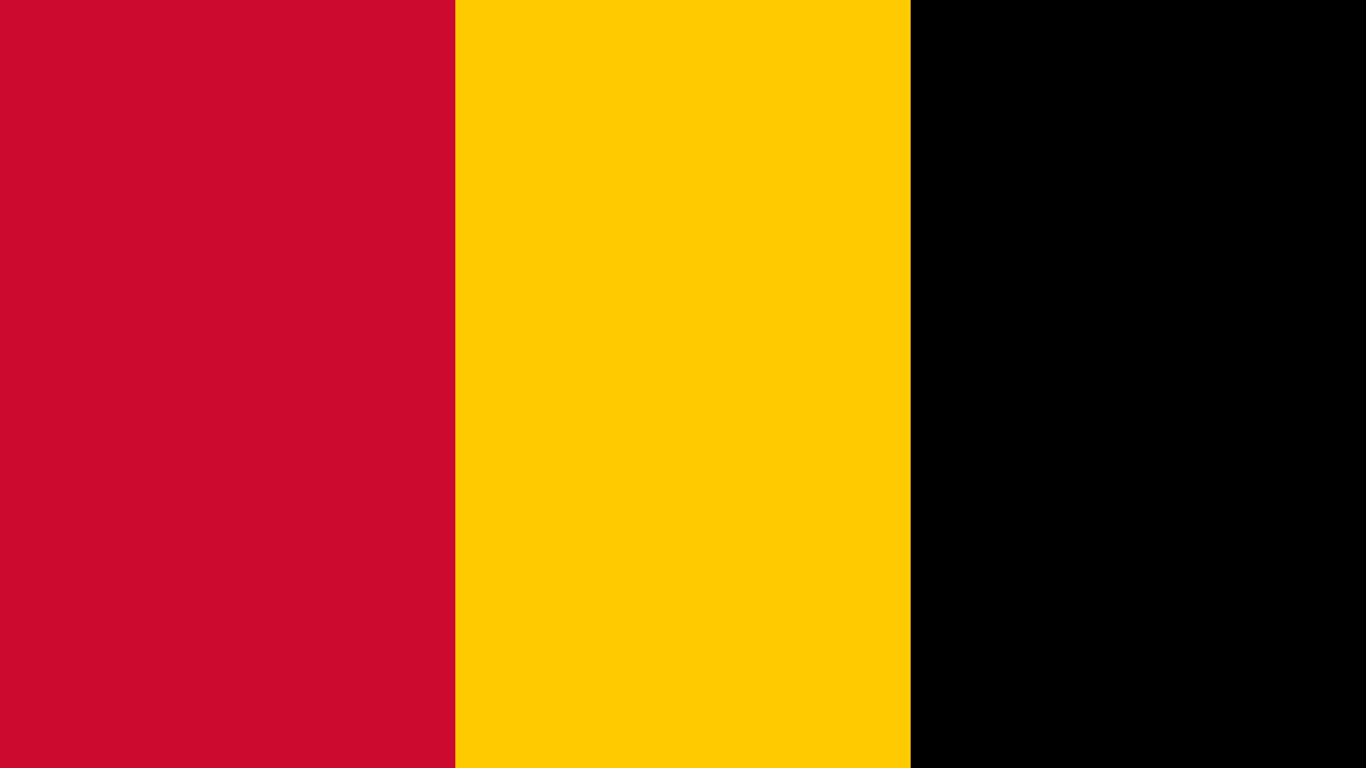 Angola Flag Color Palette