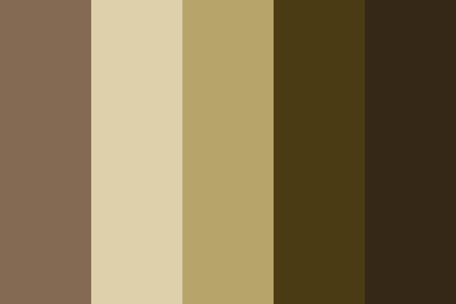 Annas Skin Is The Middle Colour Color Palette