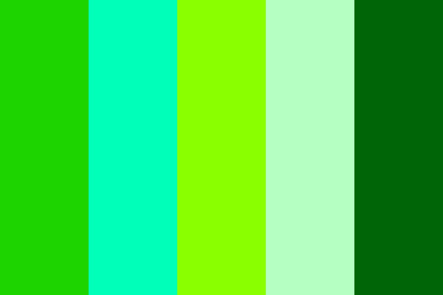 Anne Of Green Gables Color Palette