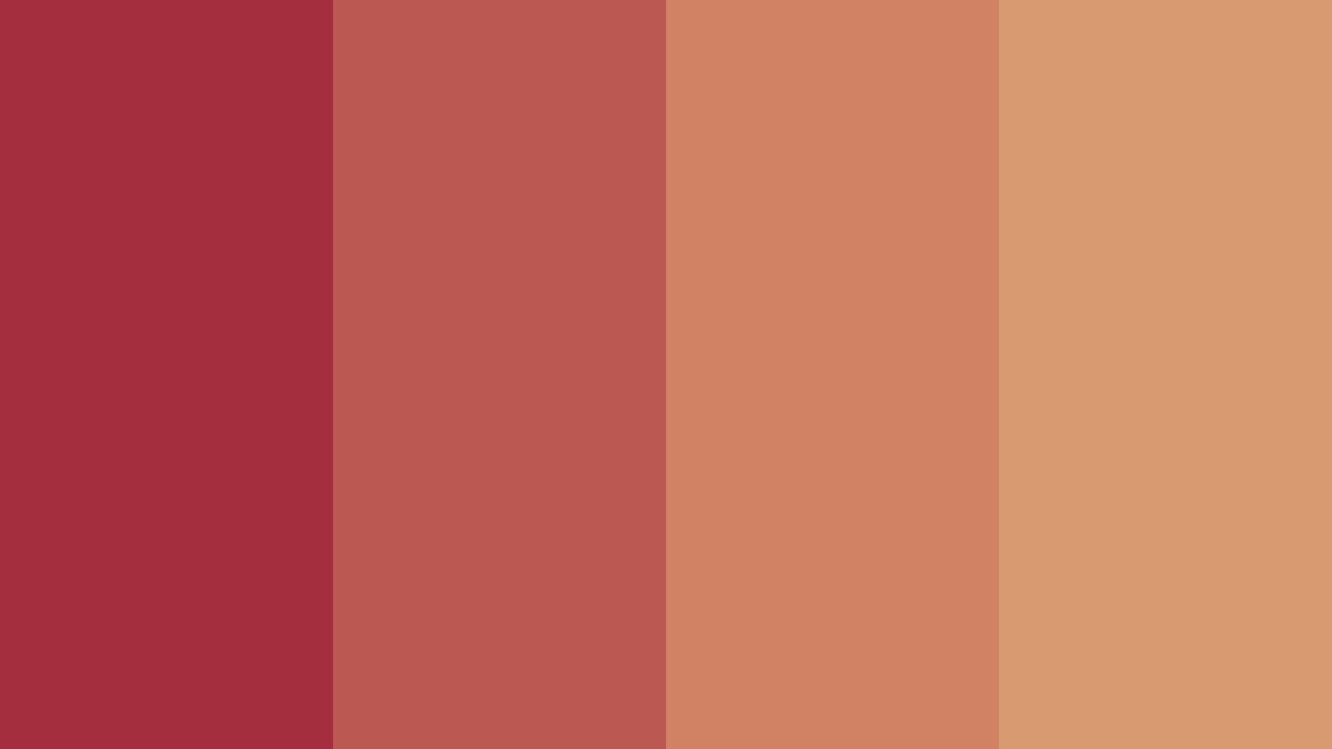 Anniversary Of Ours Color Palette