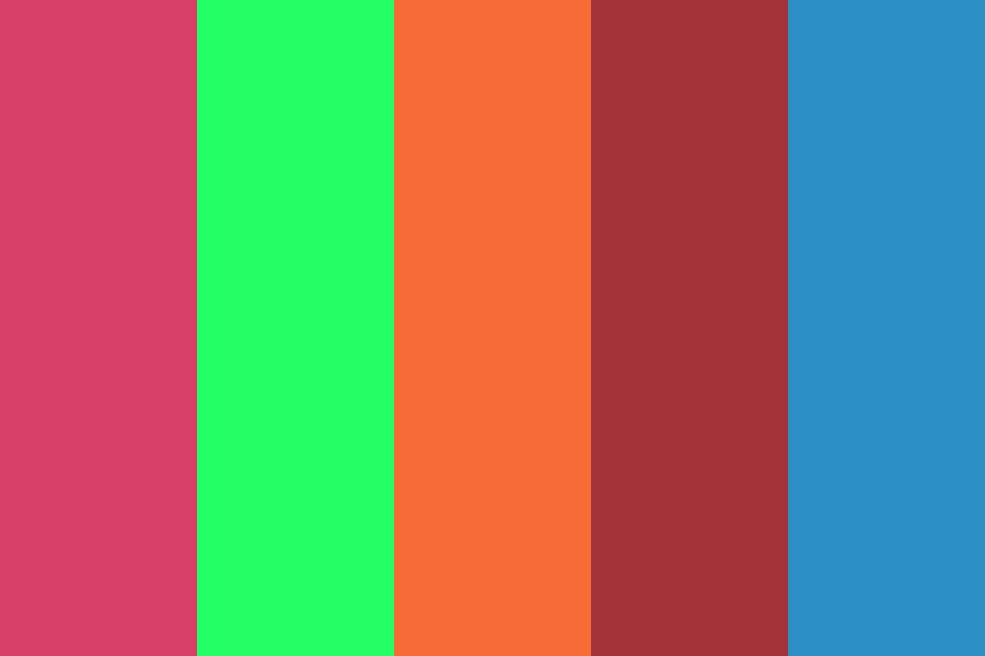 Another Random Colored Palette Color Palette