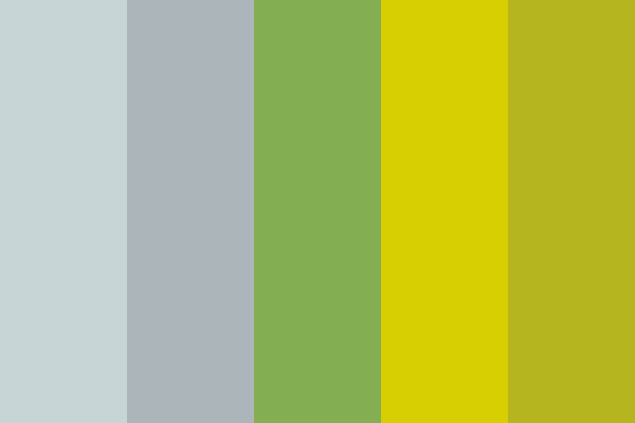 Antique Sunflower Color Palette