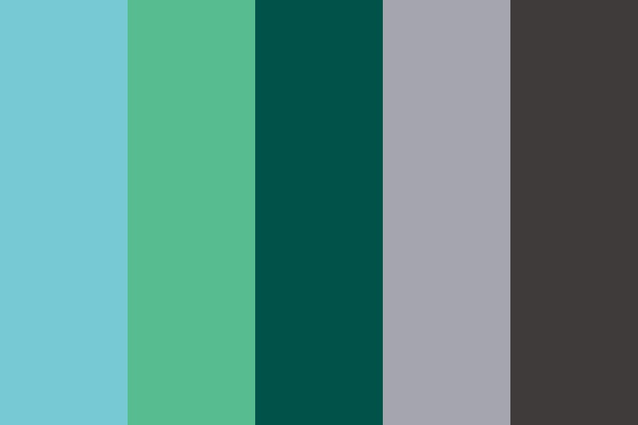 Ao Clean And Fresh Blues Color Palette