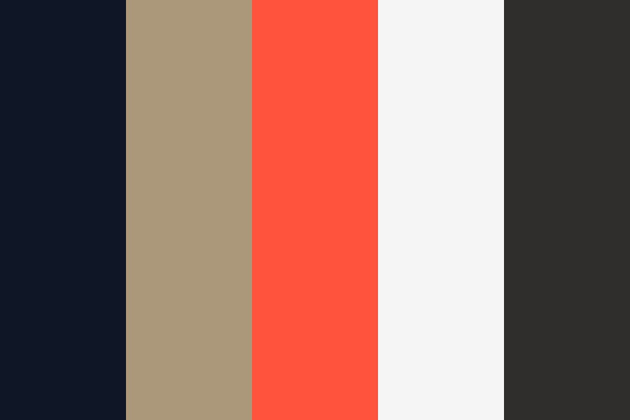 Ao Luxurius And Modern Color Palette